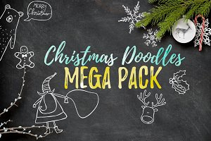 Christmas Doodles Mega Pack