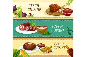 Czech cuisine traditional dishes