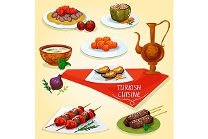 National turkish cuisine
