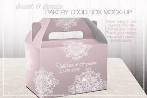 Takeaway Party Food Box