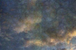 Colorful Cumulus Clouds