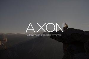 Axon | Minimalist Sans Serif Family