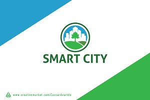 Smart City Logo Template