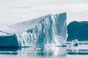 Iceberg in the Arctic (Greenland)