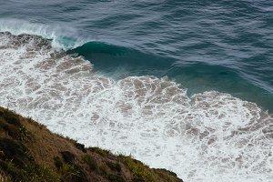Crashing Waves on the Cliffs