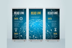 Roll Up Banner Cosmos Concept