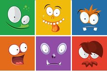 Monsters expression vector set