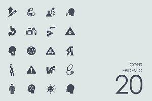 Epidemic icons