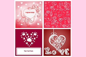 №174 Valentine's Day card