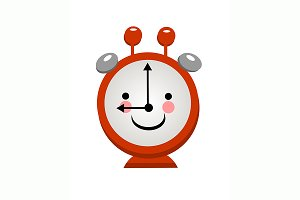 №175 Smiling alarm clock