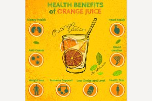 Orange Juice Health Benefits