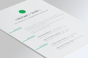 Sphere Resume Template