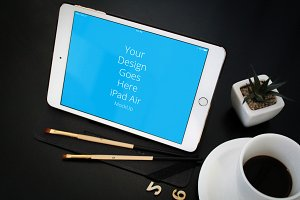 Apple iPad Display Mock-up#87