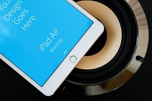 Apple iPad Display Mock-up#92