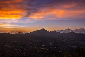 Sunrise In Mountain 01