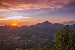 Sunrise In Mountain 02