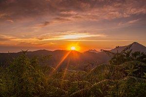 Sunrise In Mountain 03