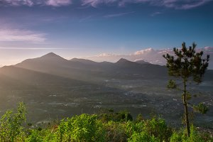 Sunrise In Mountain 04