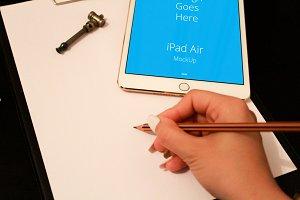Apple iPad Display Mock-up#122