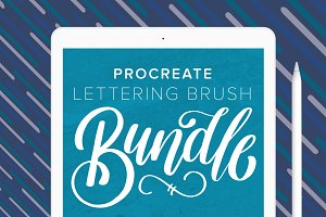 Procreate Lettering Faves Bundle