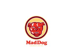 Mad Dog Energy Drink Logo