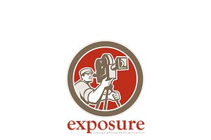 Exposure Vintage Photography Logo
