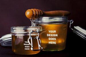 Honey Receptacle Mock-up