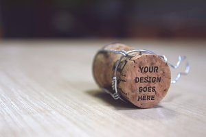 Wine Stopper Mock-up
