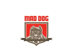 Mad Dog Vitamins Logo