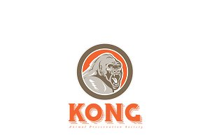 Kong Animal Preservation Logo