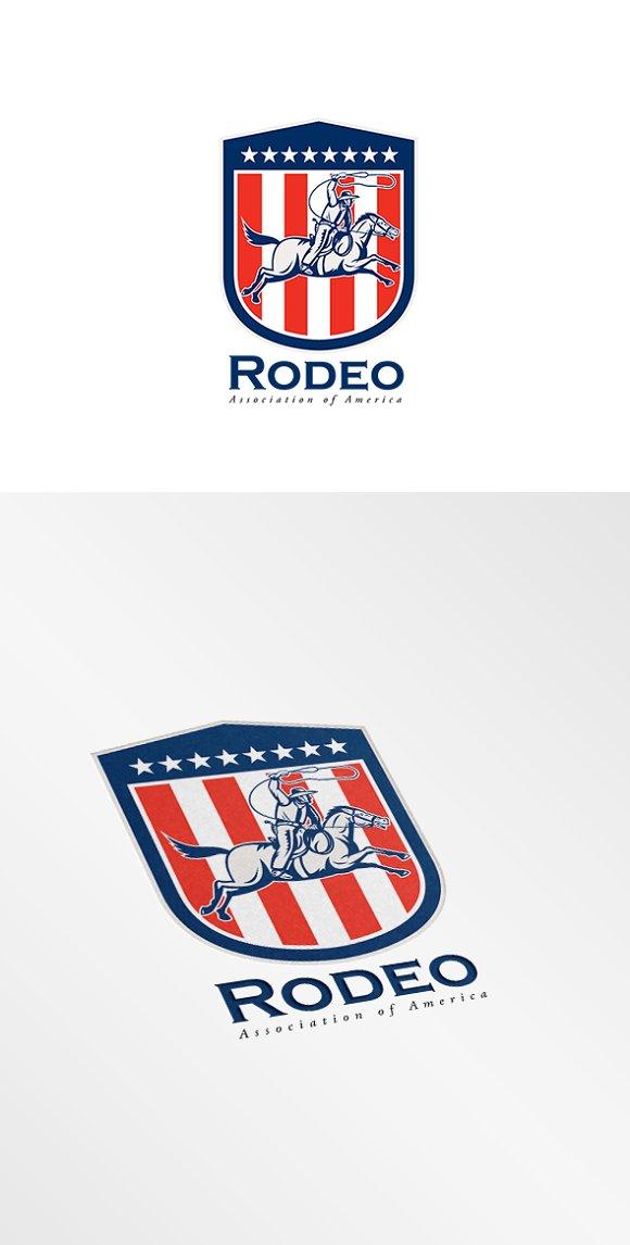 Rodeo Association Logo