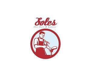 Soles Shoe Repair Logo