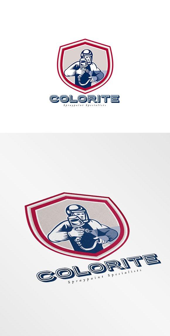 Colorite Spray Paint Logo