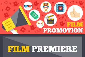 Film Promotion, Film Premiere Banner