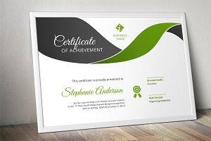 Modern curve certificate