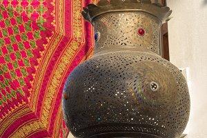 Arabic lantern hanging