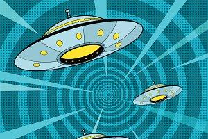 Space attack UFO