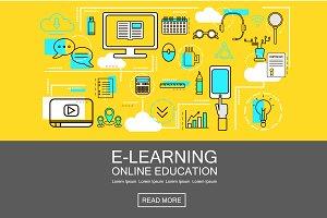 E-Learning Banner