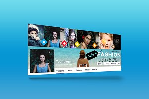Fashion Sale Facebook Cover/Banner