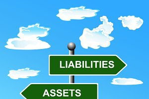 Assets, liabilities, two, way, road