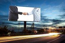 billboard blank advertising