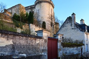 Loches city (France).