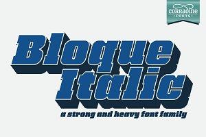 Bloque Italic