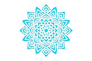 Template snowflakes laser cut.  SVG