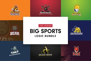 Big Sports Logo Bundle