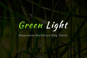GreenLight - A WordPress Blog Theme