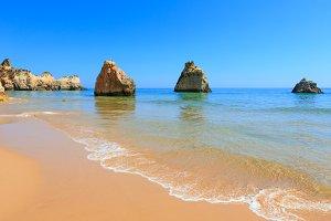 Algarve beach (Portugal)