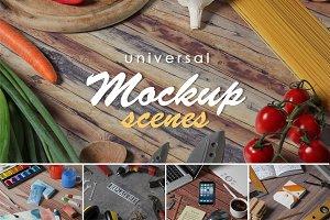 Universal Mockup Scenes