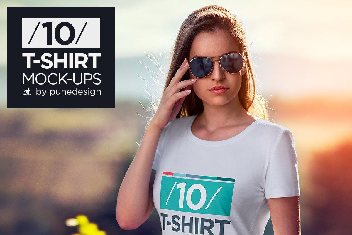 T shirt mock up vol 2 product mockups creative market for T shirt mock ups