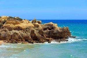 Atlantic rocky coast